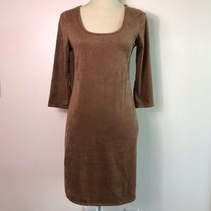 NWOT Charlotte Russe Suede Mini Dress